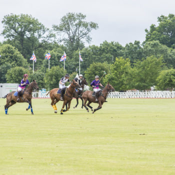 men playing polo