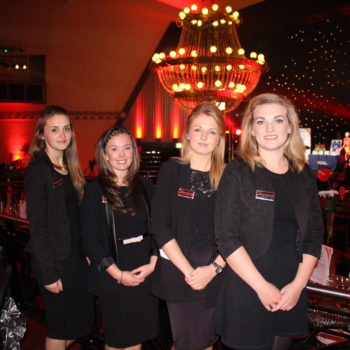 Sanjay Foods staff at Heartbeat Ball